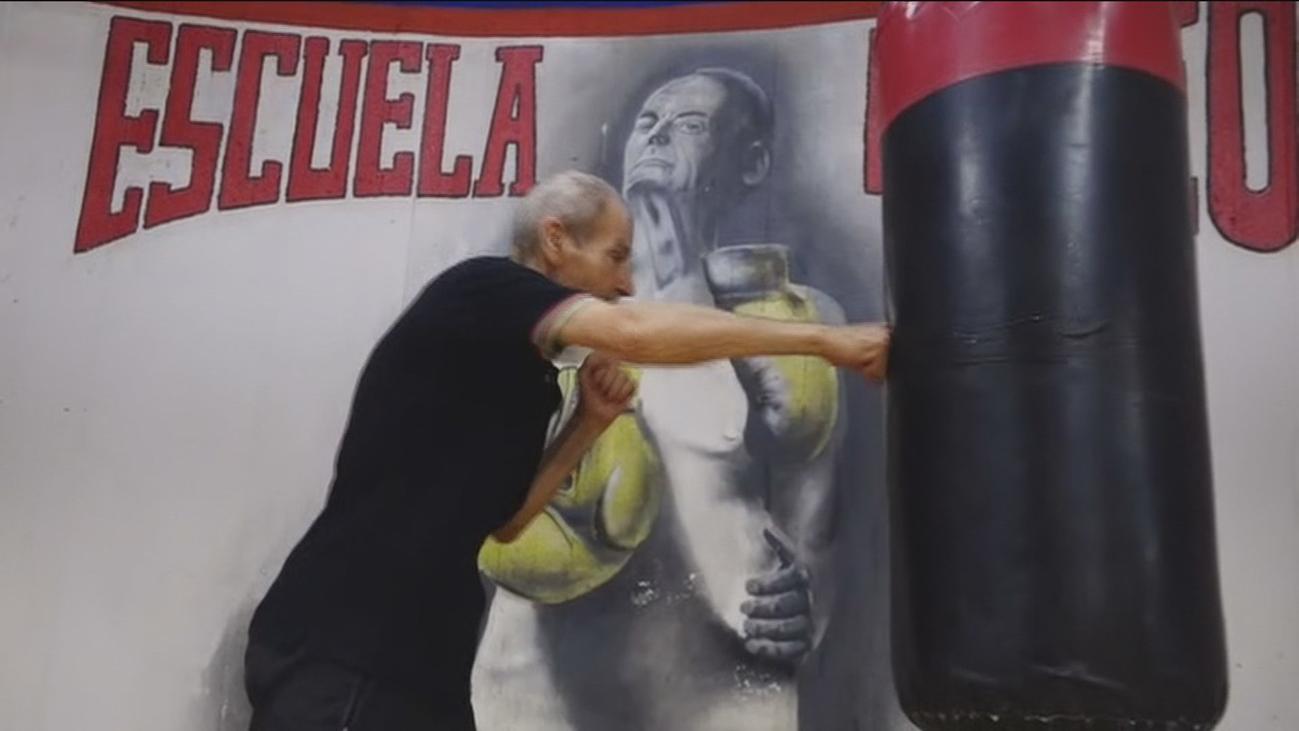 Manolo del Río, leyenda del boxeo a los 88 años