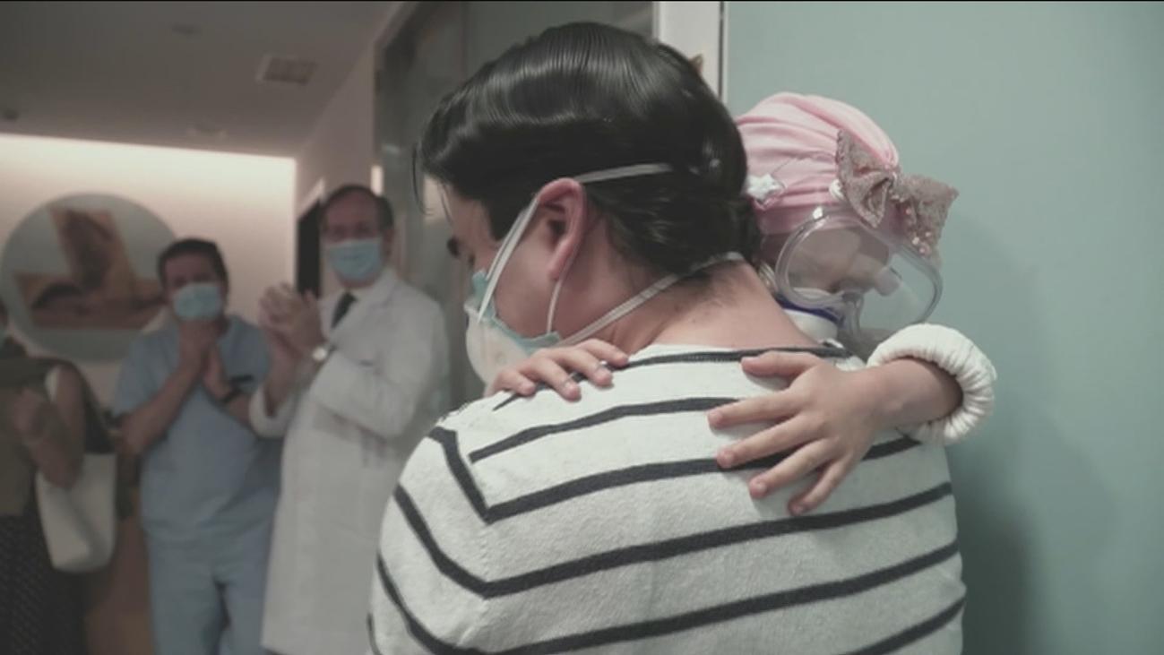 Ahinara, la niña curada con protones