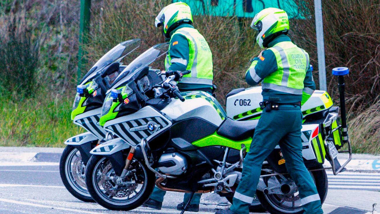 Agentes de la Guardia Civil de Tráfico