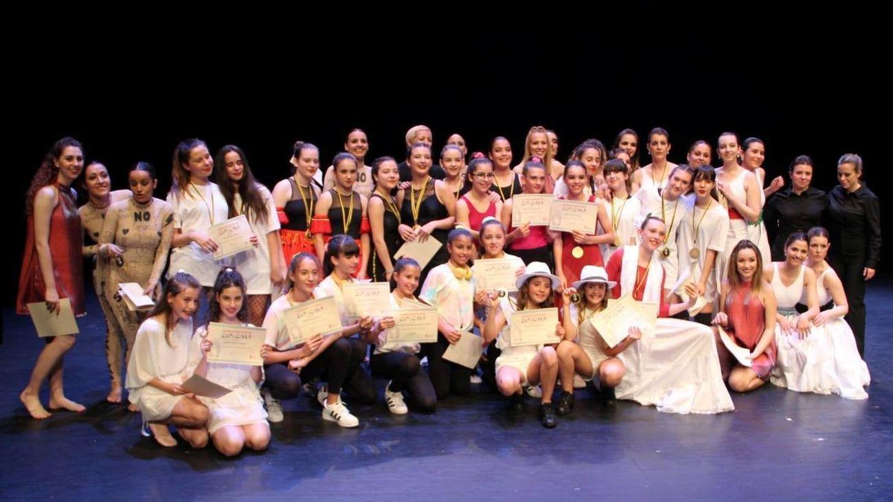 Alumnos de la Escuela Municipal de Música y Danza de Arganda
