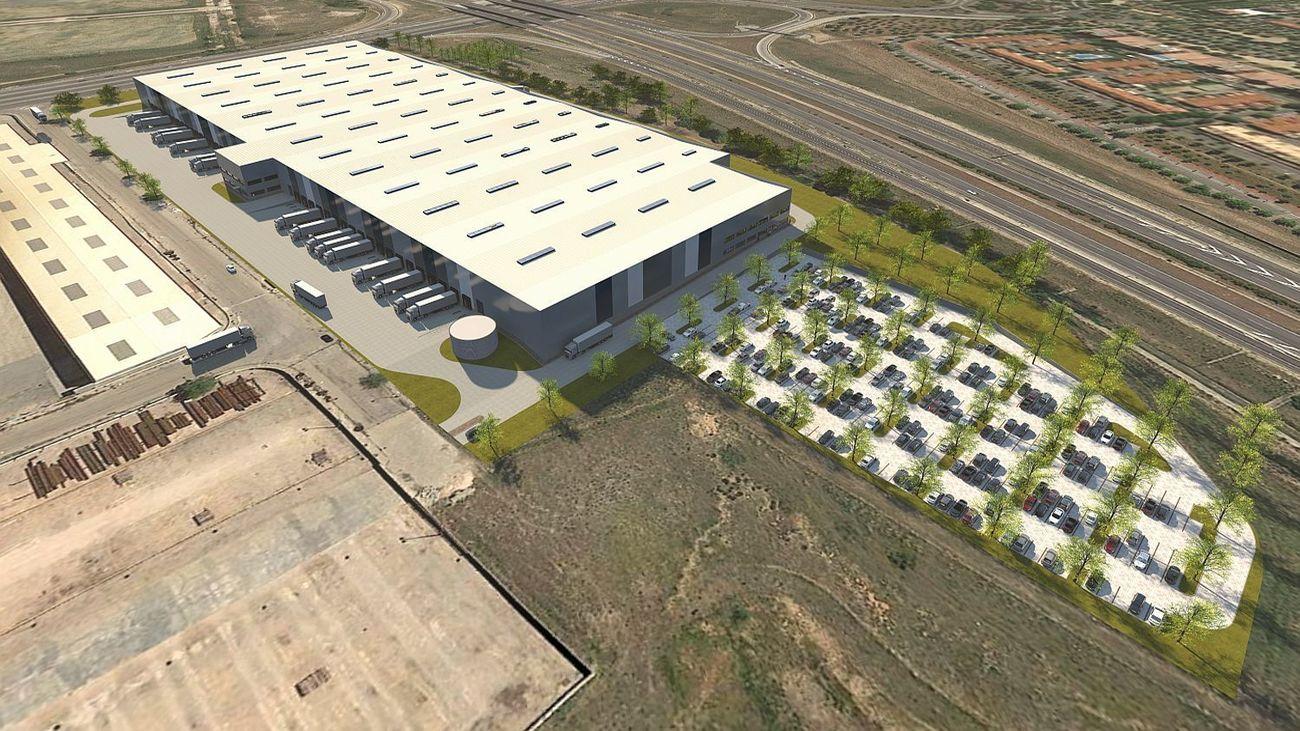 Nuevo espacio logístico en Fuenlabrada