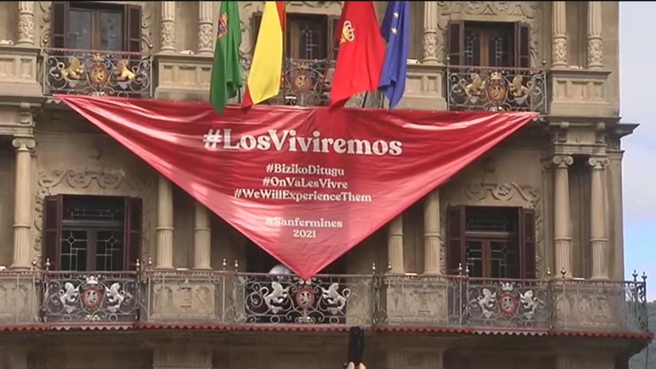 Pamplona celebra un San Fermín atípico sin 'chupinazo' y tranquilidad en las calles