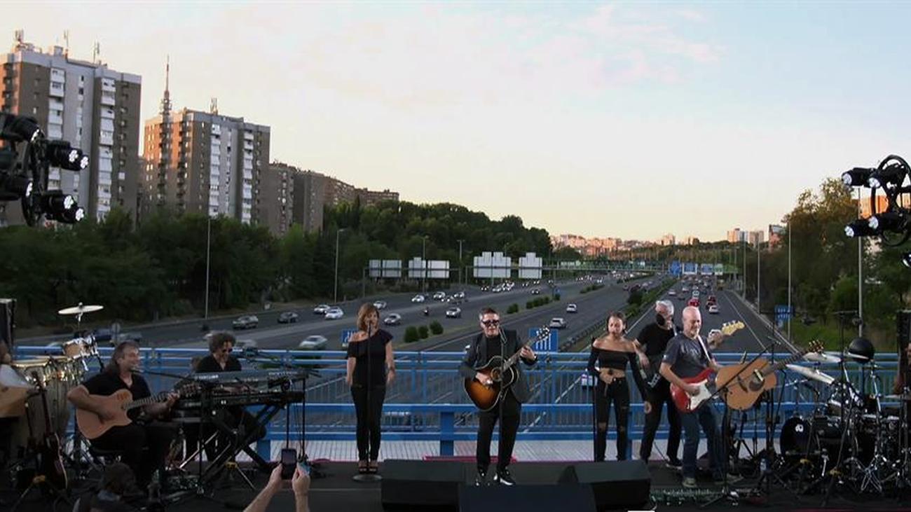 El puente de Alejandro Sanz en Madrid