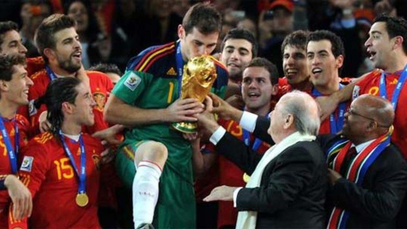 España, campeona del Mundial de 2010