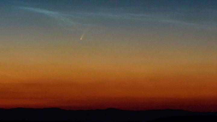 El cometa Neowise puede verse estos días a simple vista