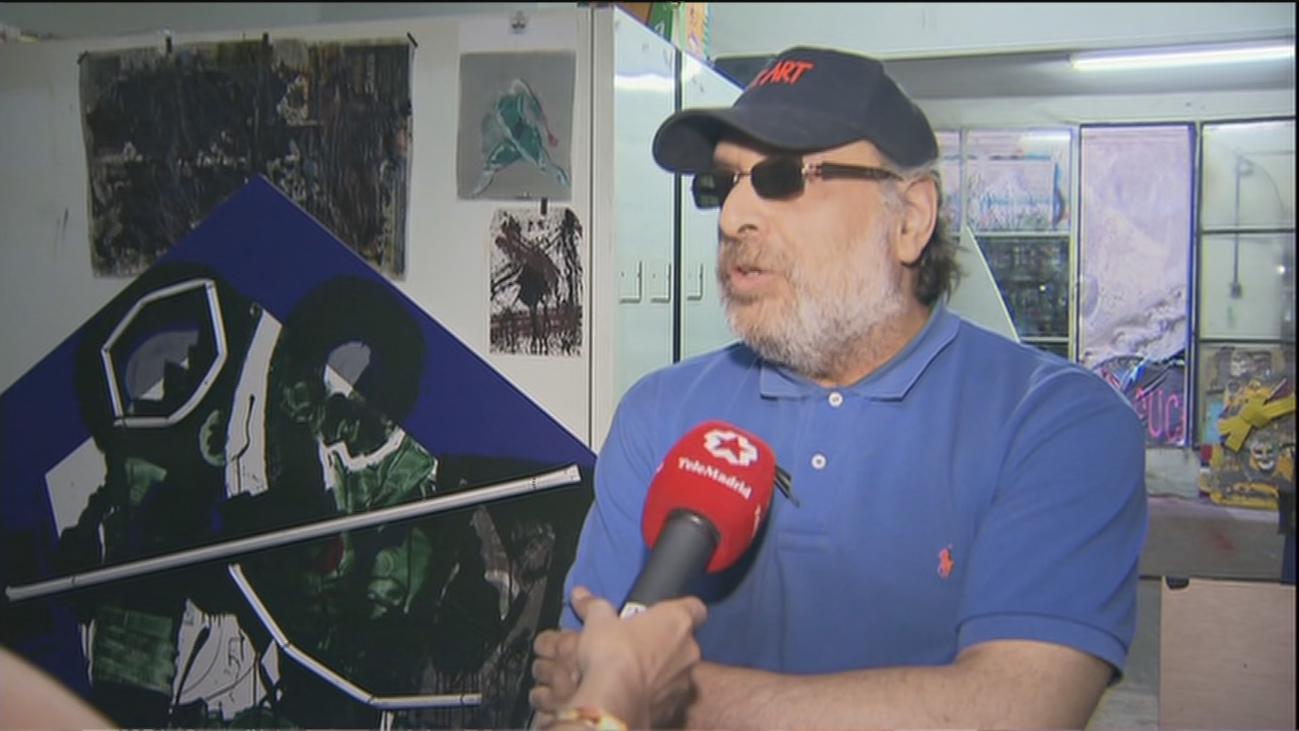 """Telemadrid encuentra al Banksy de Tetuán: """"La gente aprecia más el arte de lo que nos pensamos"""""""
