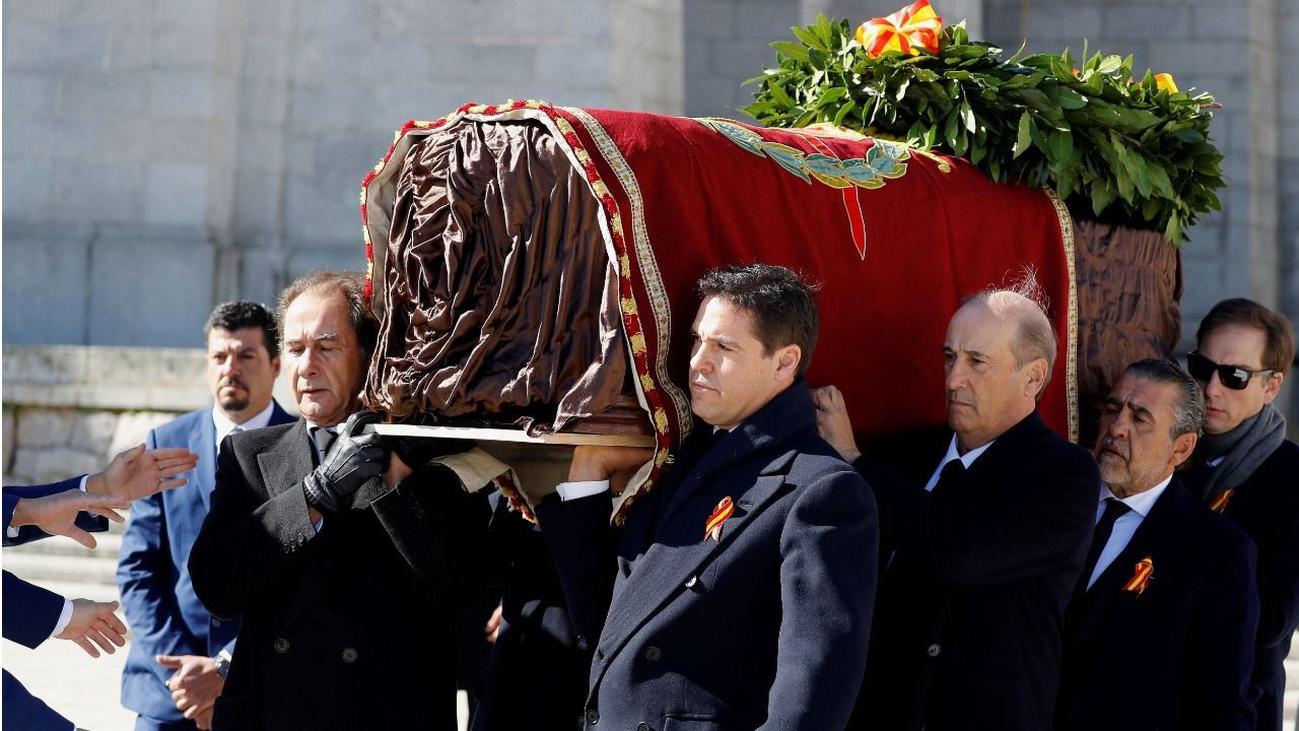El Supremo desestima los recursos contra la exhumación de Franco