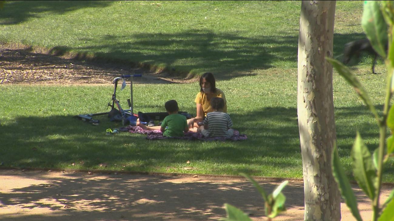 Calor sofocante en Madrid con temperaturas que alcanzan los 40 grados