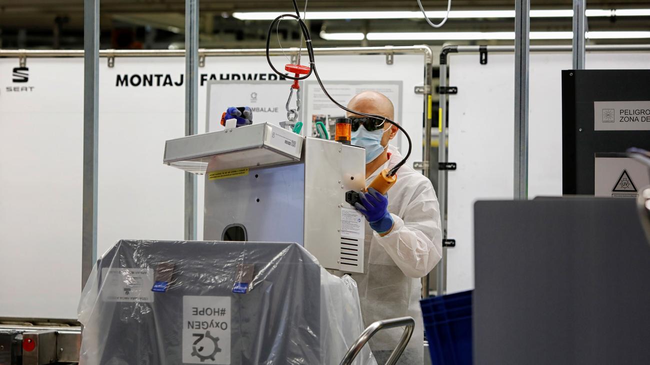 España es el país de la OCDE con más trabajadores en un entorno de riesgo de contagio