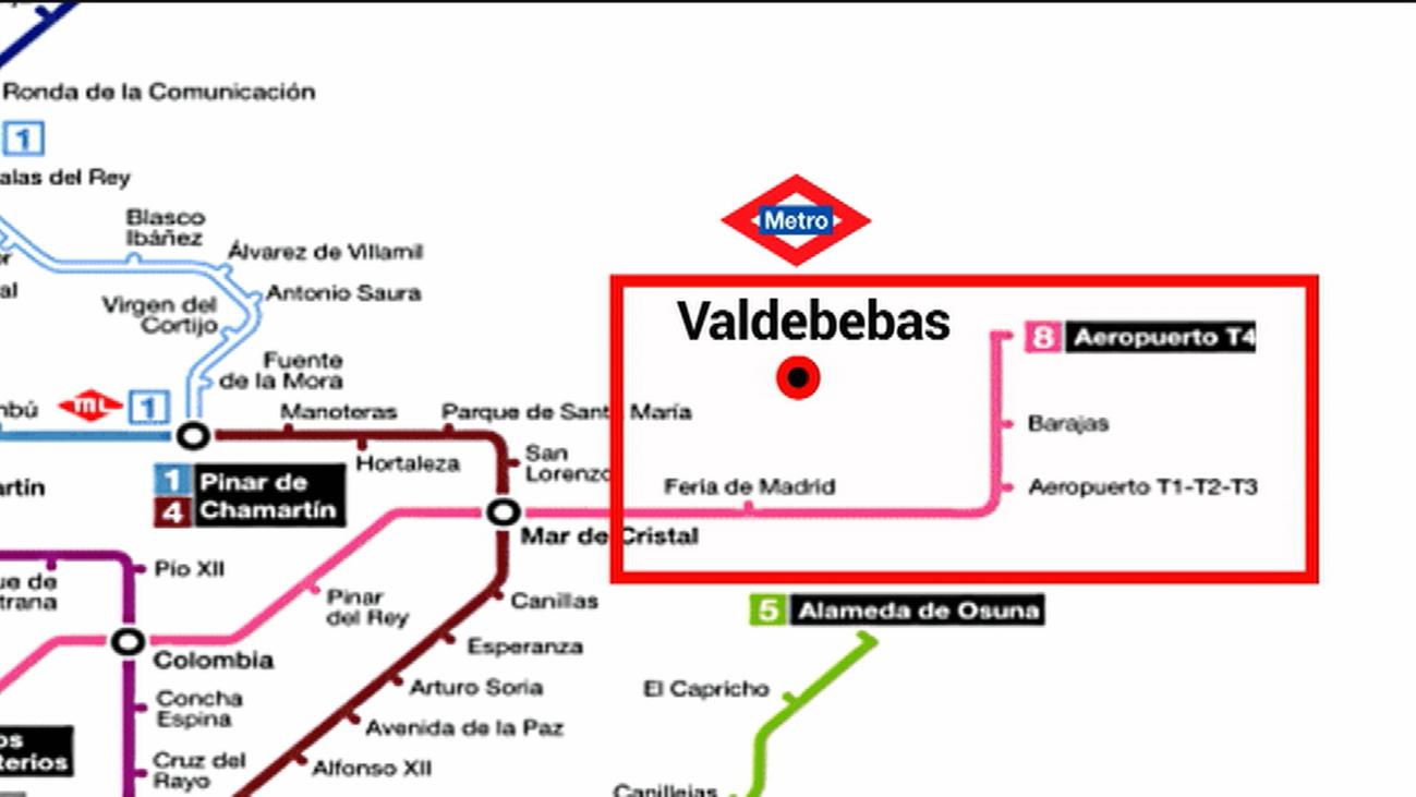 Alegría en Valdebebas por la llegada del metro, aunque toca esperar un poco más para que se haga realidad