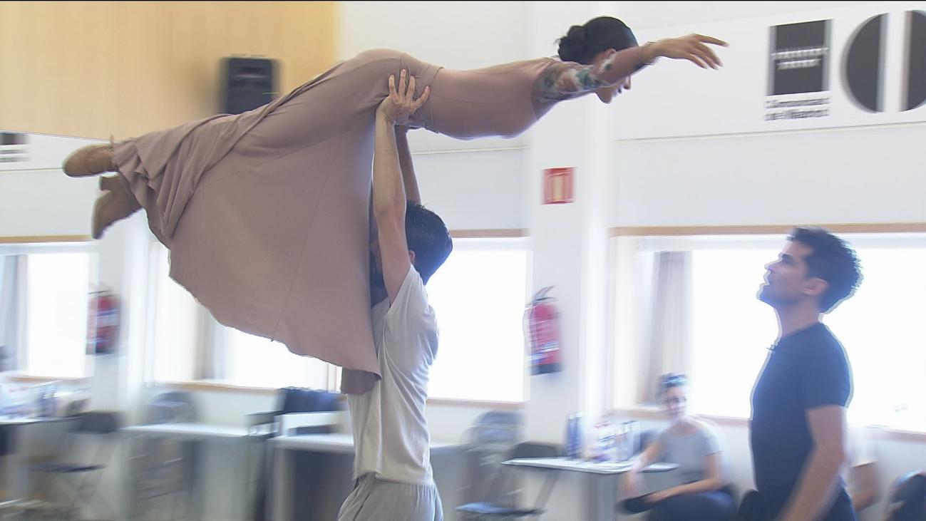 Antonio Najarro prepara el estreno de 'Alento' en los Teatros del Canal