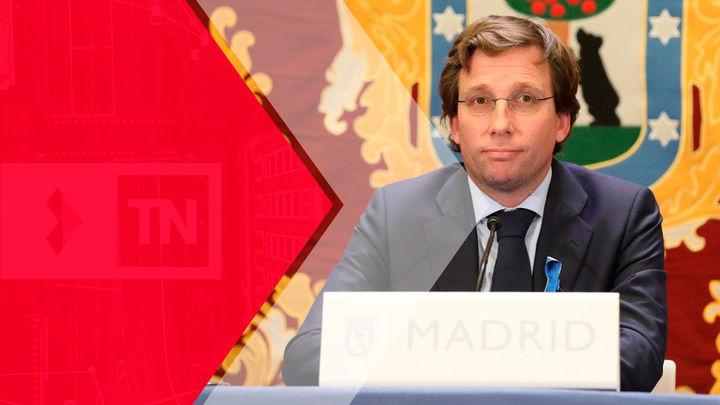 Entrevista a José Luis Martínez Almeida, este jueves en el Telenoticias 2 de Telemadrid
