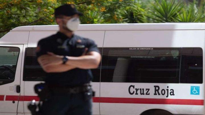 El  asentamiento de Albacete afectado por un brote de Covid-19  refuerza la presencia policial