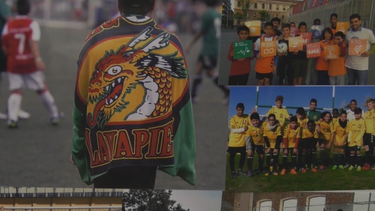 Dragones de Lavapiés, un club donde se aprende integración, respeto e igualdad