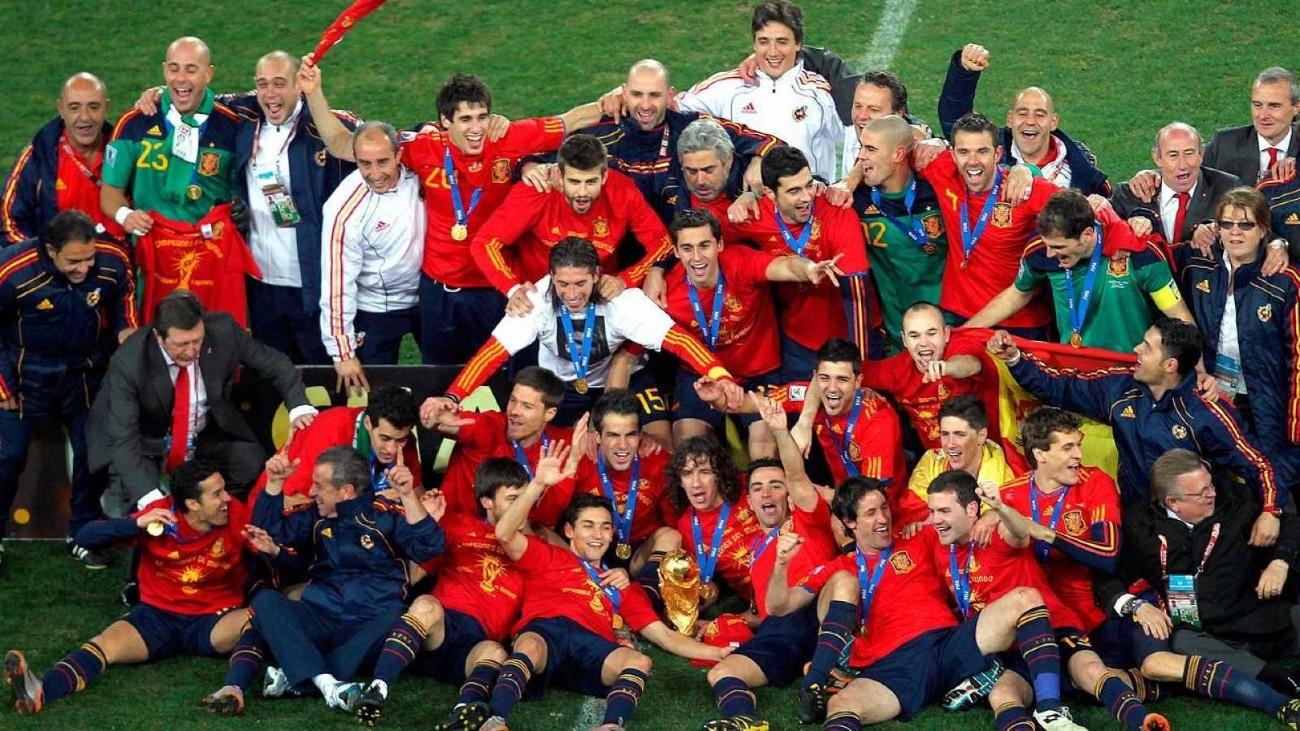 España, campeona en Sudáfrica 2010