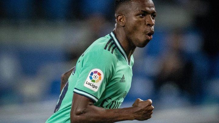 """Vinicius: """"Quiero escribir mi nombre en la historia del Real Madrid"""""""