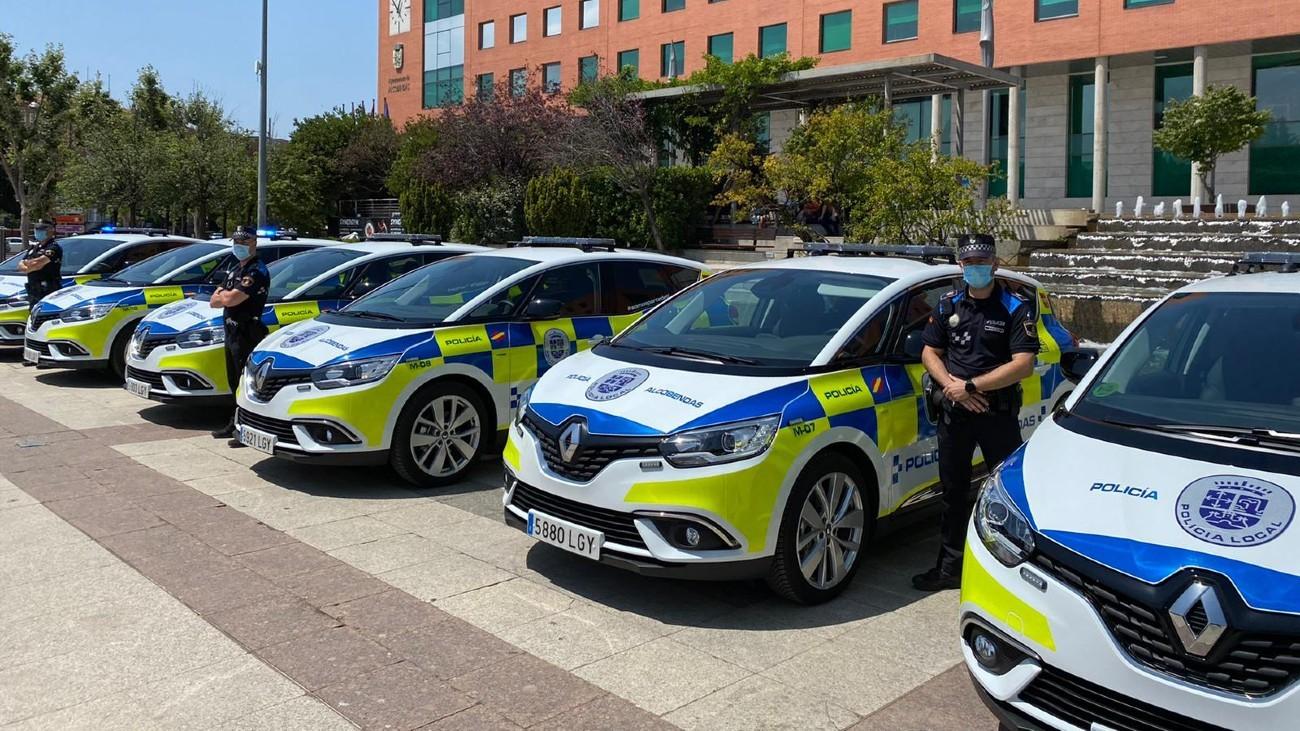 Vehículos de la Policía Local de Alcobendas