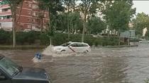 Tarde de locura por las tormentas en el sur de Madrid