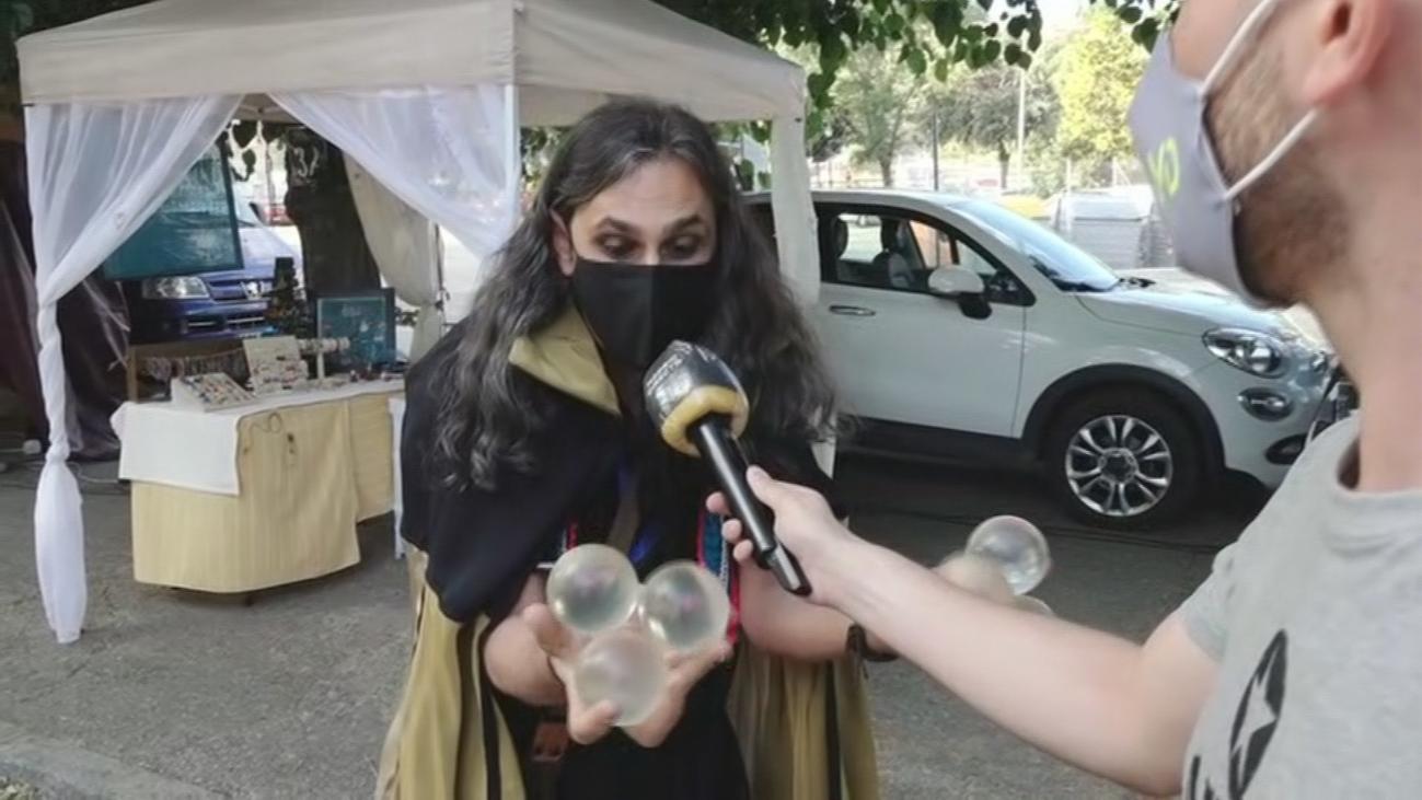 Comienza el 'Mercado de la Villa' en Miraflores de la Sierra
