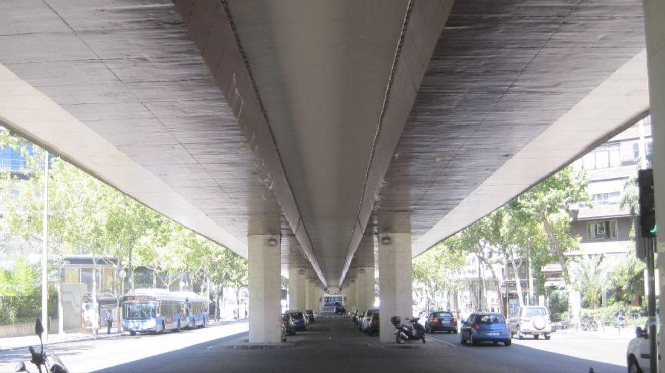 Cerrado desde este sábado  por daños estructurales el puente de Joaquín Costa