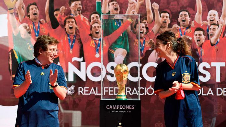 Almeida estudia el aforo de Cibeles para los aficionados del Real Madrid