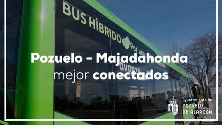La línea de autobús 650 que une Pozuelo y Majadahonda ya es circular