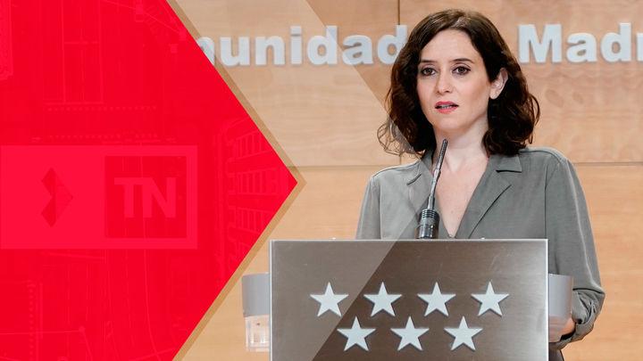 Entrevista a Isabel Díaz Ayuso, este martes en el Telenoticias 2 de Telemadrid