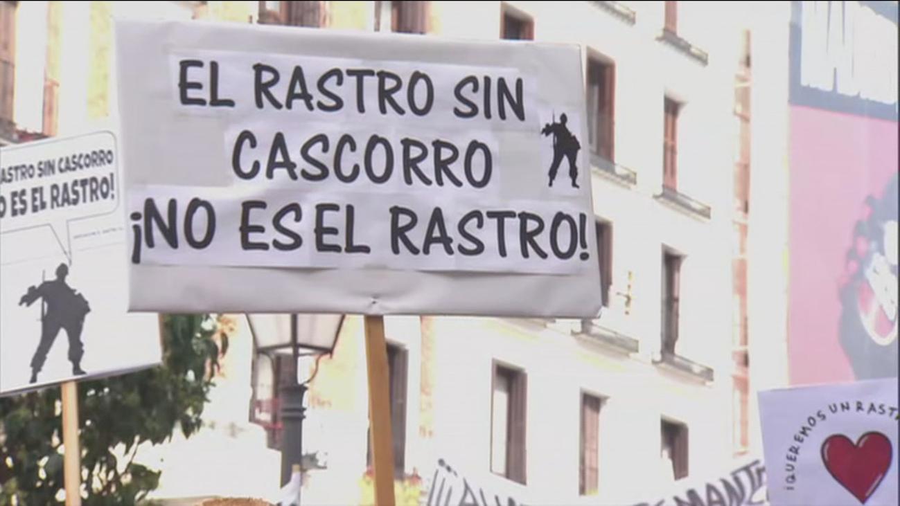Un domingo más sin Rastro en Madrid