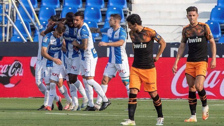 1-0. La fe inquebrantable del Leganés logra el triunfo ante el Valencia