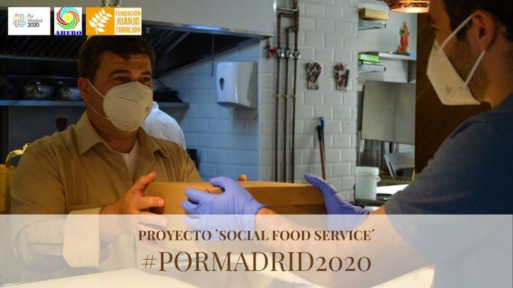 Hosteleros de Aranjuez cocinarán a diario para 25 personas vulnerables