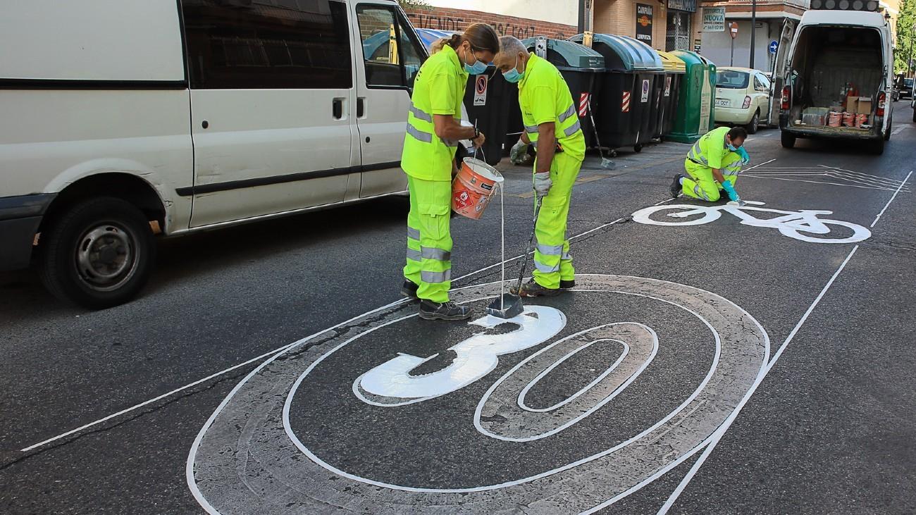 Trabajos para limitar la velocidad en Getafe