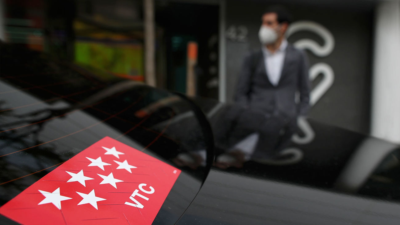 Vehículo de alquiler con conductor (VTC)
