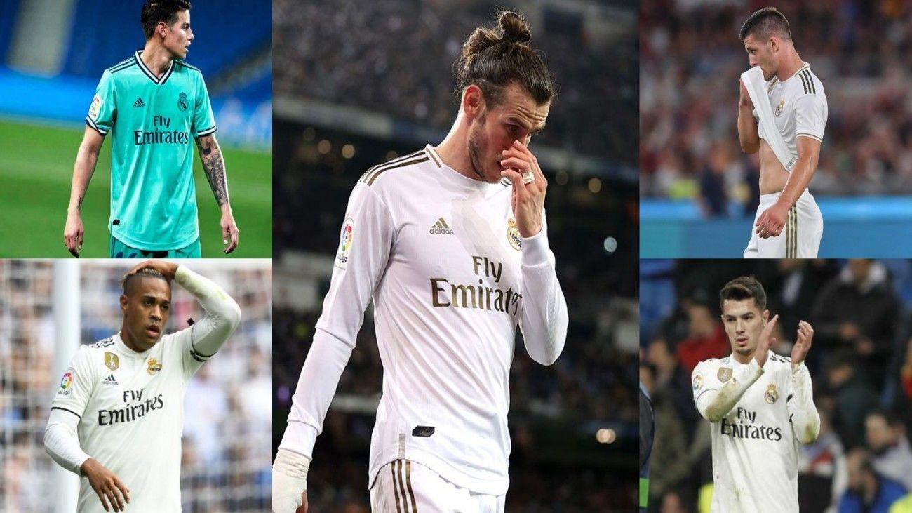 James, Bale, Jovic, Mariano e Ibrahim