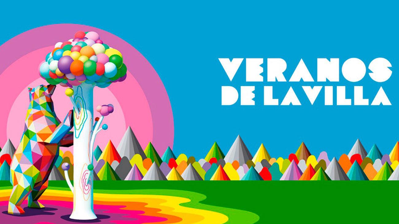 Cartel de Veranos de la Villa 2020