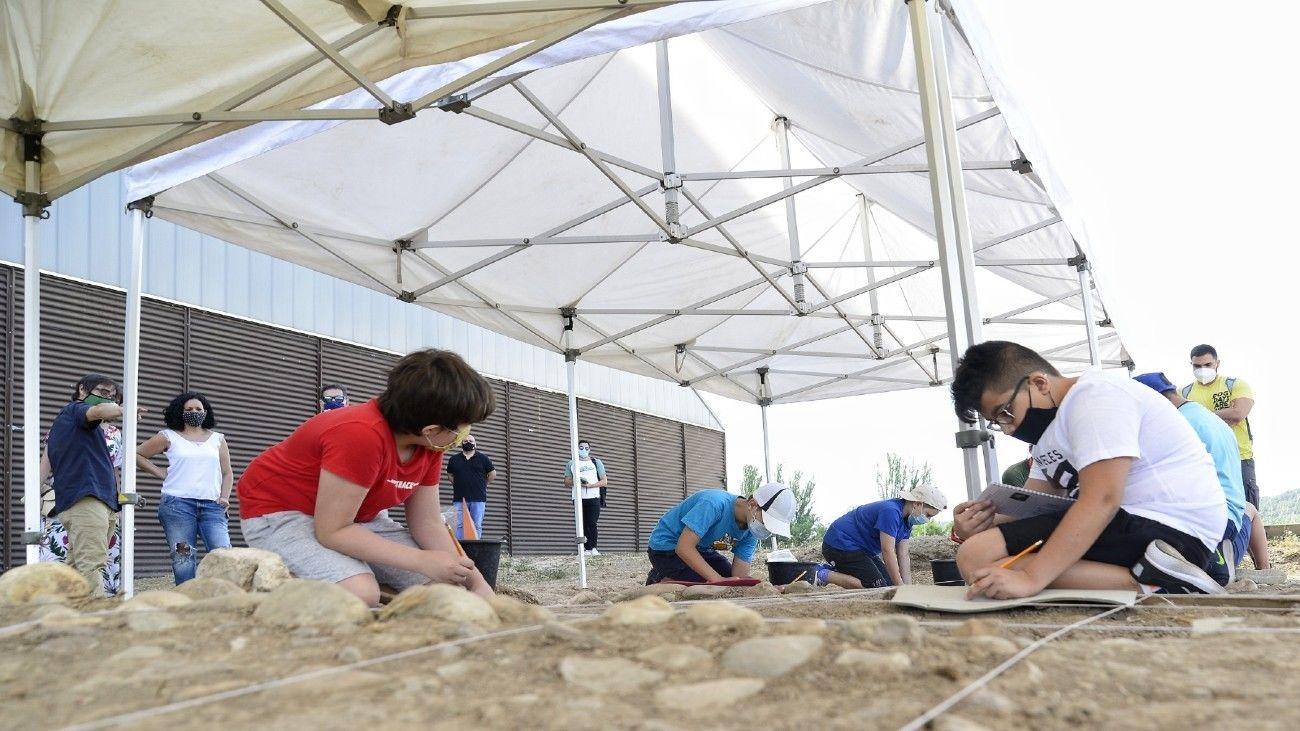 Programa 'Arqueólogos por un día'