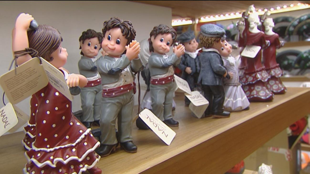 Las tiendas de souvenirs en Madrid sufren ante la falta de turistas