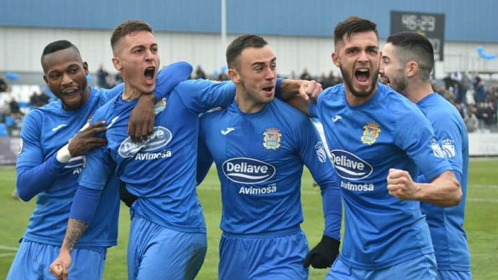 El Fuenlabrada sigue soñando con la promoción de ascenso a Primera