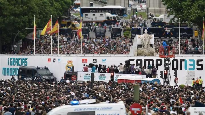 El Real Madrid pide a sus aficionados que no vayan a Cibeles si se gana LaLiga