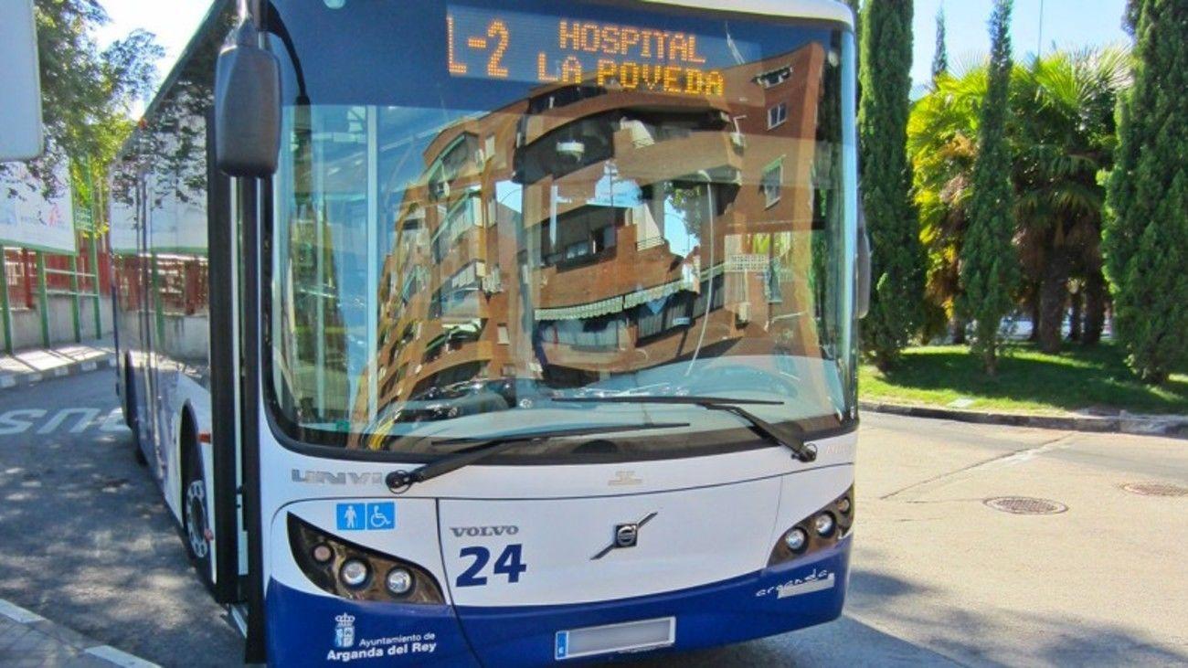 Autobús de Arganda del Rey
