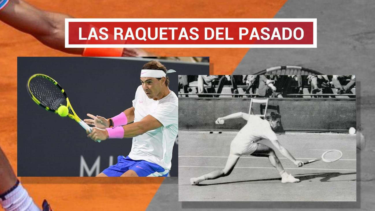Raquetas con historia en San Lorenzo de El Escorial