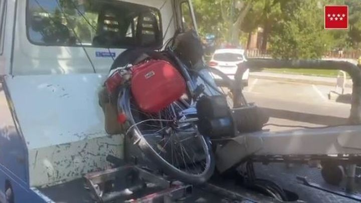 Un ciclista de 77 años herido muy grave en Móstoles tras ser atropellado