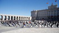 Homenaje a las víctimas de la Covid: 45 minutos de un acto histórico en Madrid