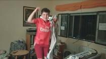 Emocionante celebración de la Liga de los aficionados madridistas desde sus casas