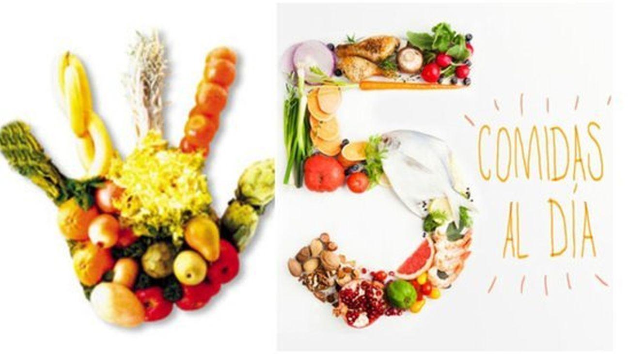 Las cinco comidas del día