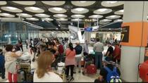 Quejas en Barajas por las aglomeraciones y el escaso control frente al coronavirus