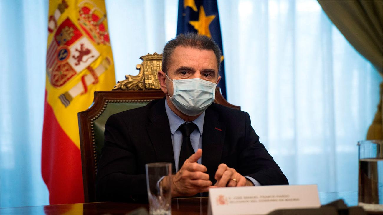 La Asamblea de Madrid reprueba al delegado del Gobierno y pide su cese inmediato