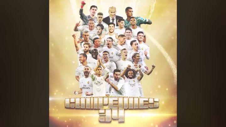 LaLiga del Real Madrid, en cifras