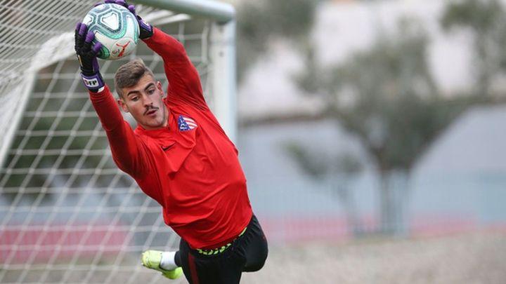 """Diego Conde, del Atleti B: """"El equipo llega al playoff en un gran nivel"""""""