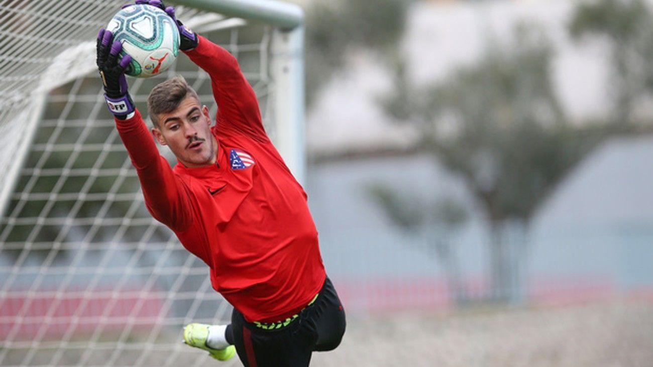 Diego Conde, del Atleti B