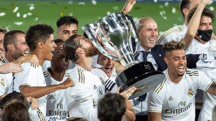 Los campeones de la 34ª Liga del Real Madrid, uno a uno
